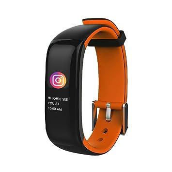 hangang salud Fitness Tracker reloj inteligente podómetro PULSÓMETRO con sensor de dedo de banda y la