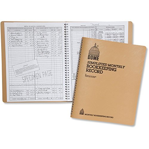 Dome Monthly Bookkeeping Record - (Dome Forms)