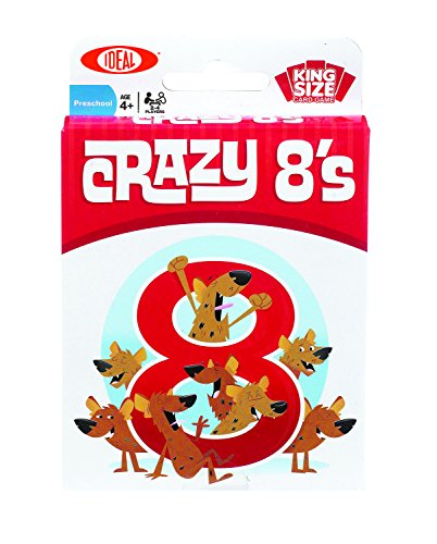 Ideal Crazy 8s Card Game (Crazy Eights Card Game)