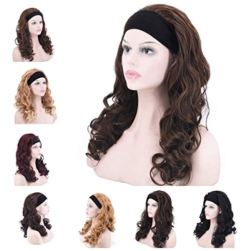 Womens Wig Headband Stylish Synthetic product image