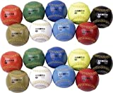 Champion Sports Weighted Training Baseball Set with Nylon Carrying Case 18(Count))