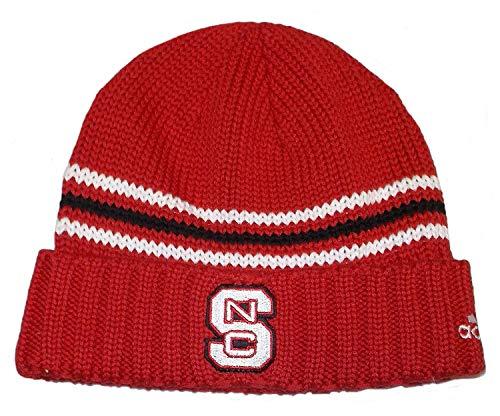 North State Carolina Wolfpack Adidas Knit Cuffed Hat FEqdxw75