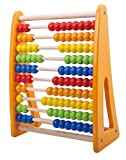 Pidoko Kids 123 Learning Abacus Toy - Math Manipulatives Numbers Counting Beads | Educational Toys for Toddlers - Preschool Boys and Girls 2 Year Olds and Up