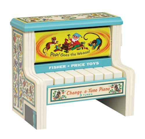 Fisher Price Classic Change a Tune Piano (Fisher Music Price Player Record)