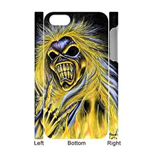 DDOUGS I Iron Maiden Best Cell Phone Case for Iphone 4,4S, Custom Iphone 4,4S Case