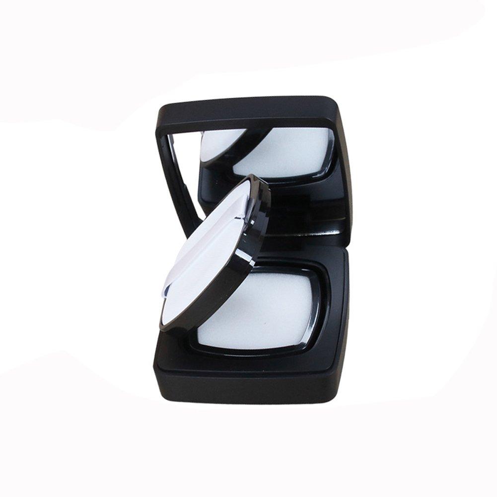 15ml vuoto piazza portatile cesto Air Cushion Puff box fondotinta liquido BB CC Cream Container Holder Powder cake box dressing case con polvere Puff cuscino d' aria spugna e specchio–-magnetic induzione interruttore (1pezzi) Elandy