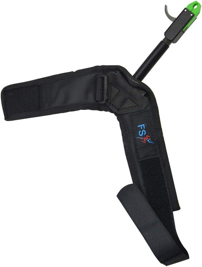 ZSHJG Disparador Ajustable del Lanzamiento del Arco Compuesto Disparador para la Caza con la Correa de la mu/ñeca de la Hebilla Desencadenar Accesorios