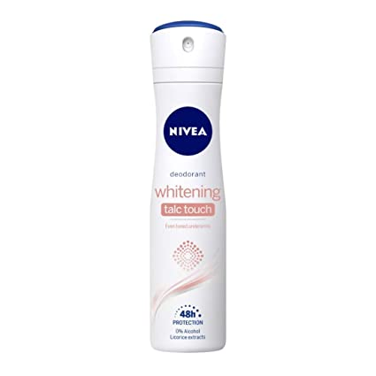 Nivea Whitening Talc Touch Deodorant - 150 ml