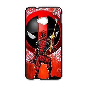 Red cloth deadpool Cell Phone Case for HTC One M7