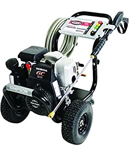 SIMPSON Cleaning MSH3125-S 3200 PSI at 2.5 GPM Gas Pressure Washer Powered by HONDA with OEM Technologies Axial Cam Pump