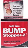 High Time Bump Stopper-2 Double Strength Razor Bump Treatment, 0.5 oz (Pack of 5)