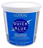 L'Oreal Quick Blue Powder Bleach 1 Lb (3-Pack) with Free Nail File