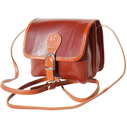 LEATHER BAG tan SHOULDER Brown 225 LADY 0wUxFgqg