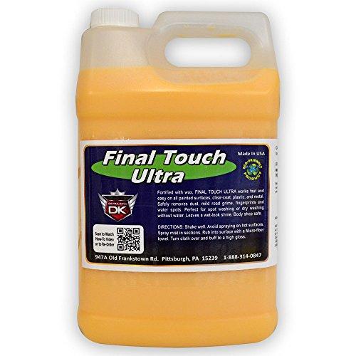 Detail King Final Touch Ultra Express Spray Wax Gallon