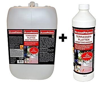 CleanPrince Liter Liter Terrassenplatten Kraft Reiniger - Naturstein fliesen reiniger