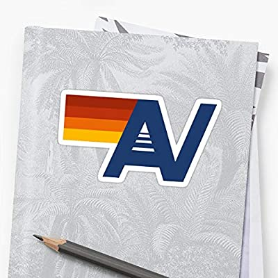 Andrews Mall Aviator Nation Stickers (3 Pcs/Pack): Kitchen & Dining