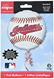 """Anagram International Cleveland Indians Package Party Balloons, 18"""", Multicolor"""
