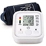 Automatic Arm Blood Pressure Monitor Voice Broadcast High Blood Pressure Monitors Portable LCD