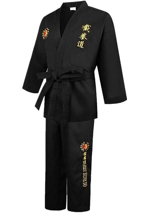 JHDUID Traje de Tai Chi Wushu Uniforme, Jeet Kune Uniforme ...