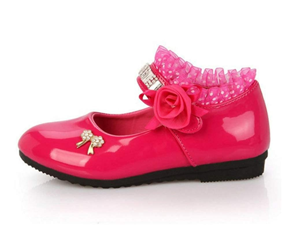 Dolwins Little Girl Kids Dress Shoes for Girls School Party and Wedding Shoes