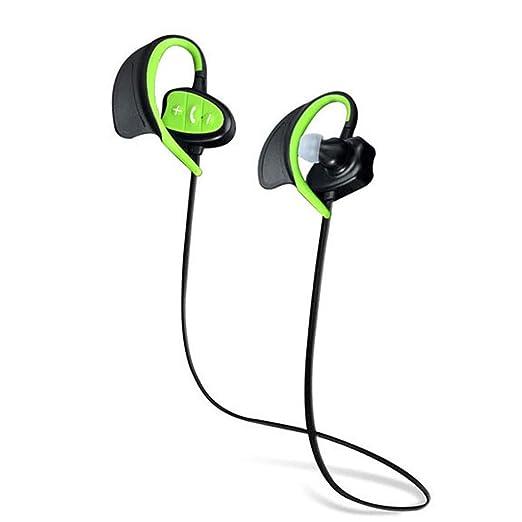 AJAHBGSMXD - Auriculares Bluetooth inalámbricos con subwoofer IPX8 ...