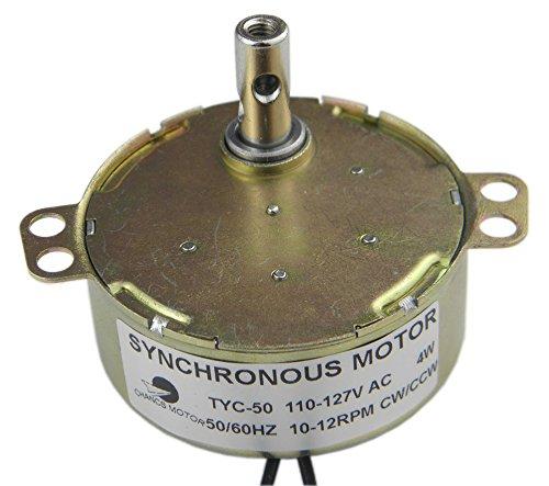 CHANCS TYC-50 10/12RPM CW/CCW Permanent Magnet Motor 110V AC Electric Motor