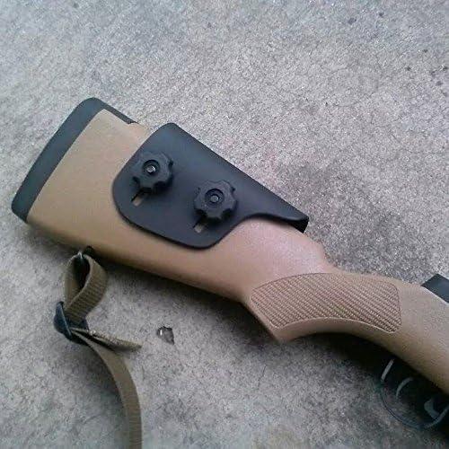 "Matthew'S Fabrication Adjustable Kydex Cheek Rest Riser .125"" - Premium Cheek Rest: Remington 700 Hs Precision & Savage Accustock"