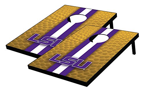 (Wild Sports NCAA College LSU Tigers Tailgate Toss Bean Bag Game Set, Multicolor, One Size)