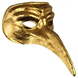 Disguise Costumes Gold Venetian Mask, Adult