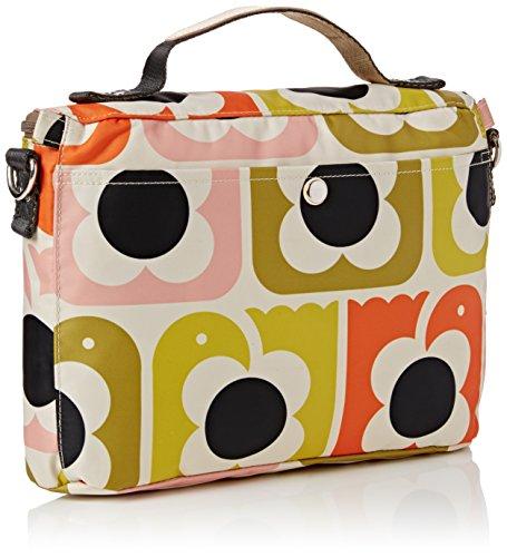 Orla Kiely Love Birds Print Mini Box Bag, Borsa a tracolla Donna