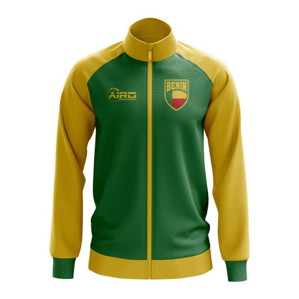 Airo Sportswear Benin Concept Football Track Jacket (Grün) - Kids
