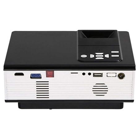 Inicio proyector LED micro portátil entretenimiento al aire libre ...