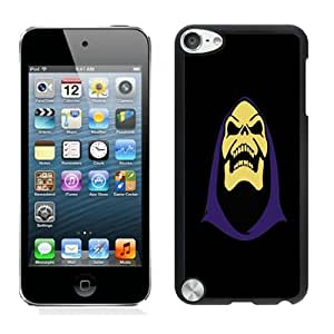 Beautiful DIY Designed With Skeletor Cover Case For iPod Touch 5th Black Phone Case CR-577