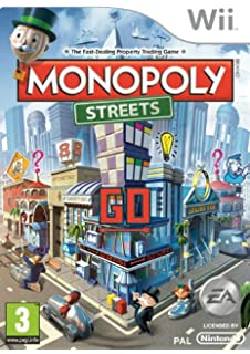 Monopoly Streets Nintendo Wii Import UK