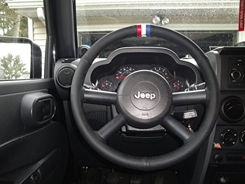Amazon.com: RedlineGoods Jeep Wrangler 2007-10 cubierta del volante de: Automotive