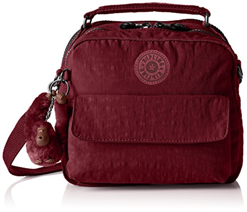 T Crimson Kipling cm Womens Top A12 Handle Candy x B Red Bag 5 H x 22x19x11 r7ZqrB4S