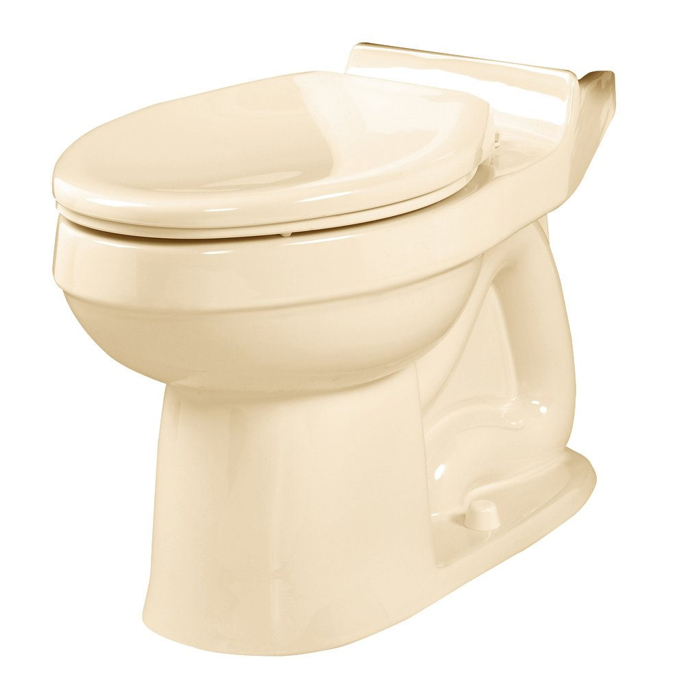 American Standard 3121.016.021 Champion Elongated Seatless Toilet Bowl, Bone (Bowl Only)