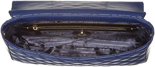 Love Moschino Borsa Quilted Nappa Pu Blu - Borse A Spalla Donna blue 6x19x28 Cm b X H T