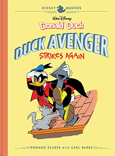 Pdf Graphic Novels Disney Masters Vol. 8: Donald Duck: Duck Avenger Strikes Again (Vol. 8)  (The Disney Masters Collection)