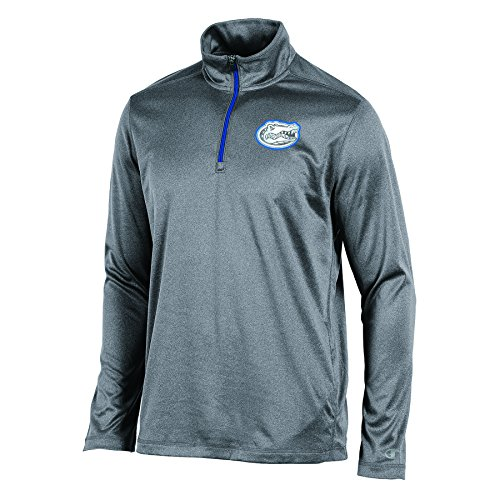 Champion NCAA Boys Long Sleeve Synthetic Quarter Zip Jacket