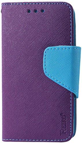 huge selection of 3df81 cbb03 Reiko 3-in-1 Wallet Case for Motorola Droid Mini Xt1030 - Retail Packaging  - Purple
