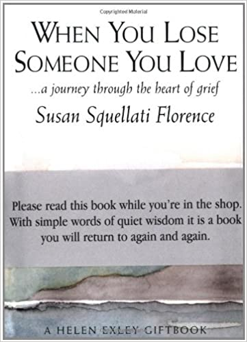 Amazoncom When You Lose Someone You Love Journeys 9781861874214