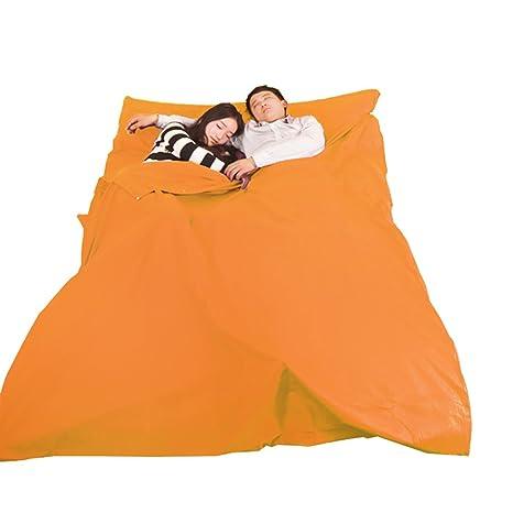 yourjoy viaje Envelope saco de dormir, anti Dirty hoja para Camping senderismo Hotel, con