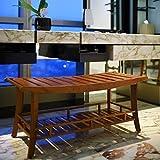 Estate Spa - Multi-Purpose Bench Seats/Storage   Solid Wood, Brown [RP-250383]