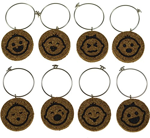 Cork Wine Glass Charms (20+ Unique Designs) -
