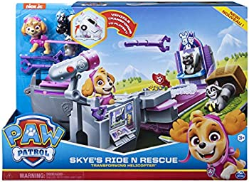 Paw Patrol Skye's Ride N Rescue Transforming Helicopter Vehicle Playset