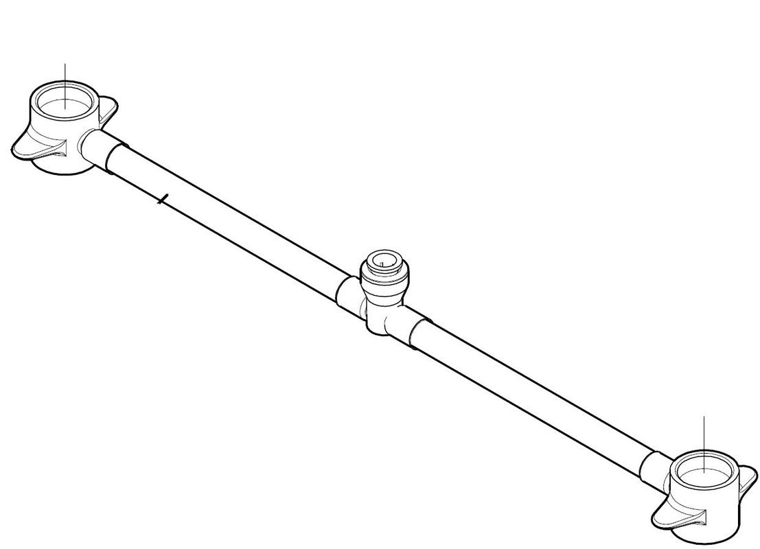 Pfister 971-0050 Parisa/Savannah 49 Series S/P Hose Sub Assembly