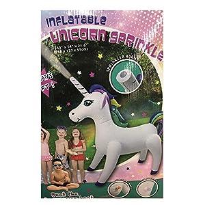 Inflatable Giant Unicorn Sprinkler for Kids – 4.5 Feet Tall