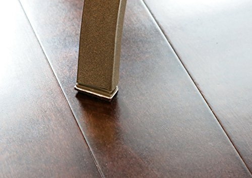 FitFabHome Premium Furniture Felt Pads | 109 PACK To Fit All Your Needs | Compare Our Large Sizes With Competitors | Protect Floors From Scratches and Scuffs | Strong Adhesive | Dark Brown Color