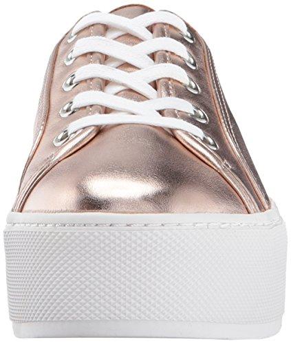 Steve Madden Womens Foxie Fashion Sneaker Rose Goud